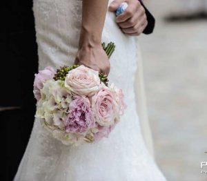 Bouquet da sposa di Vogliotti per Pietrini