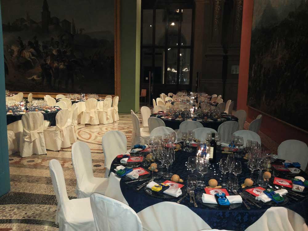 museo del risorgimento Torino: cena placé INVICTA Catering bon ton pietrini