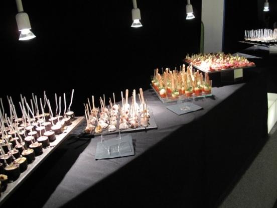 Buffet stilizzato Catering Bon Ton di Pietrini