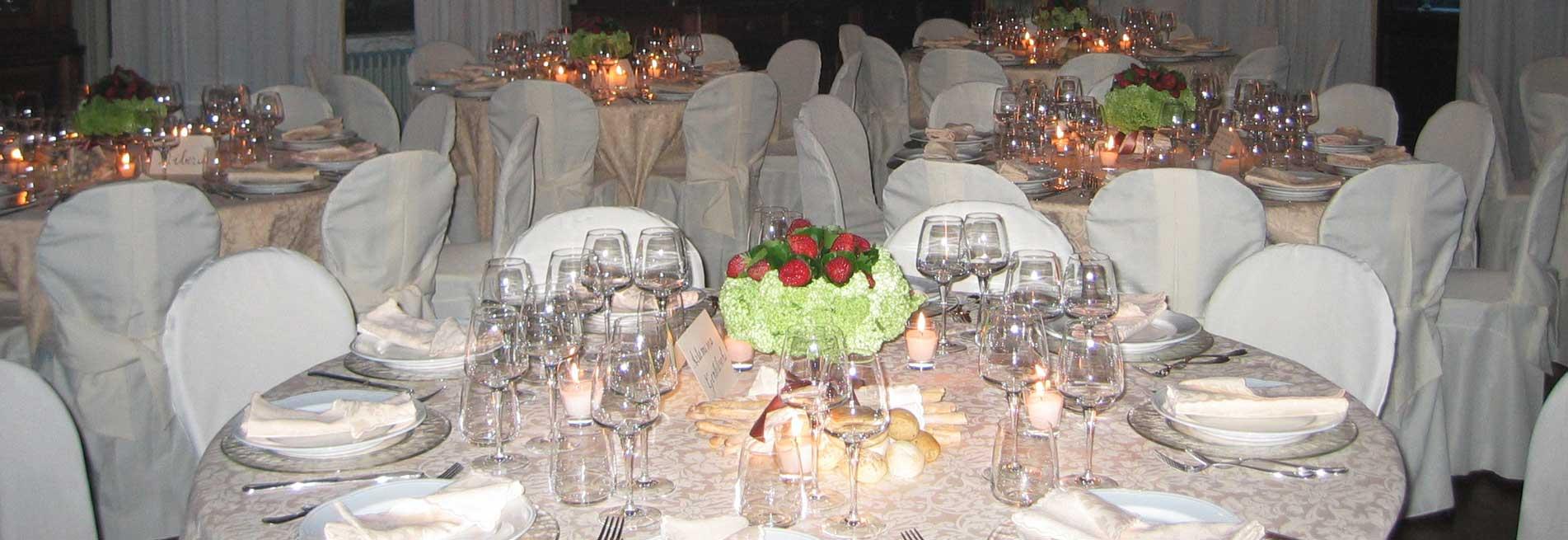 Catering matrimonio al Castello Benso di Mercenasco