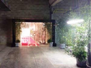 ingresso luminoso-evento aziendale-bon ton pietrini
