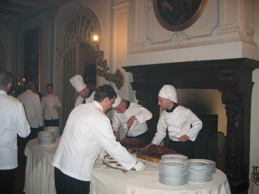 Bon Ton di Pietrini presso il Castello di Mercenasco - catering per matrimoni e catering per eventi aziendali Bon Ton di Pietrini, Torino
