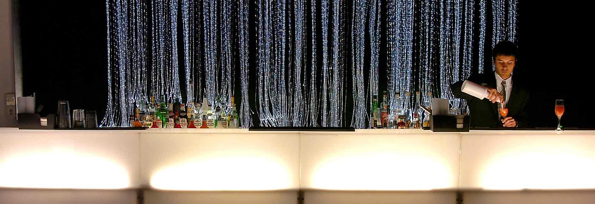 Open Bar, luci ed effetti speciali per il tuo evento - Catering BON TON Pietrini