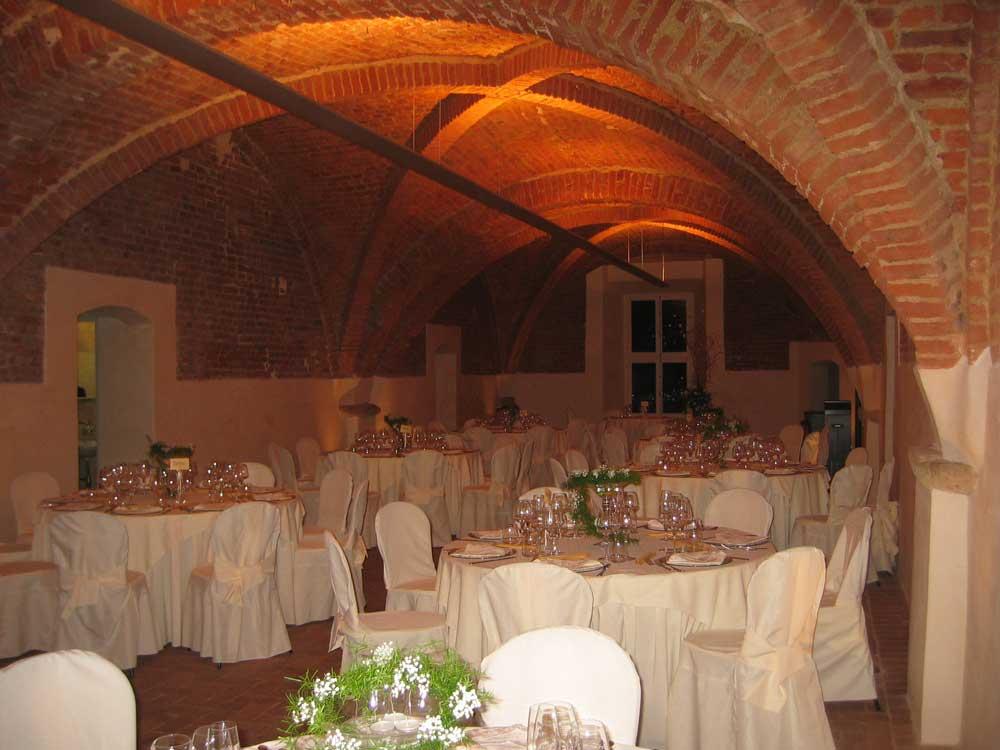 dettaglio sala Torre Valgorrera - Bon Ton di Pietrini presso Torre Valgorrera - catering per matrimoni e catering per eventi aziendali Bon Ton di Pietrini, Torino