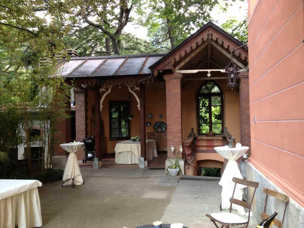 location per matrimoni catering Bon Ton - ingresso Villa Vigna Brunetta catering per matrimoni Bon Ton di Pietrini