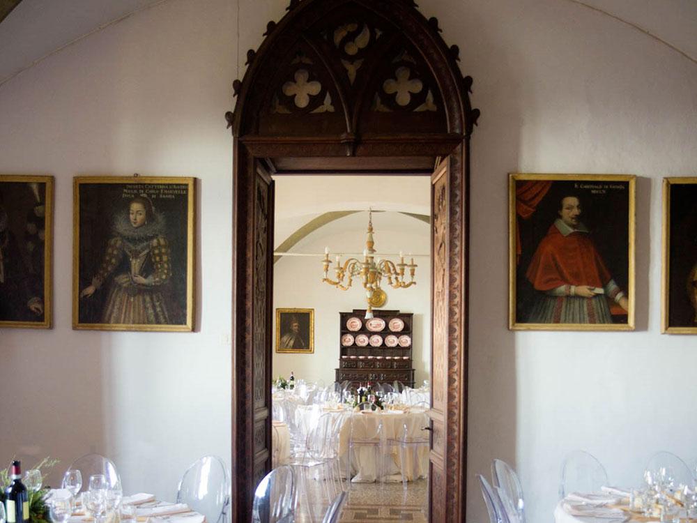 interni castello villardora
