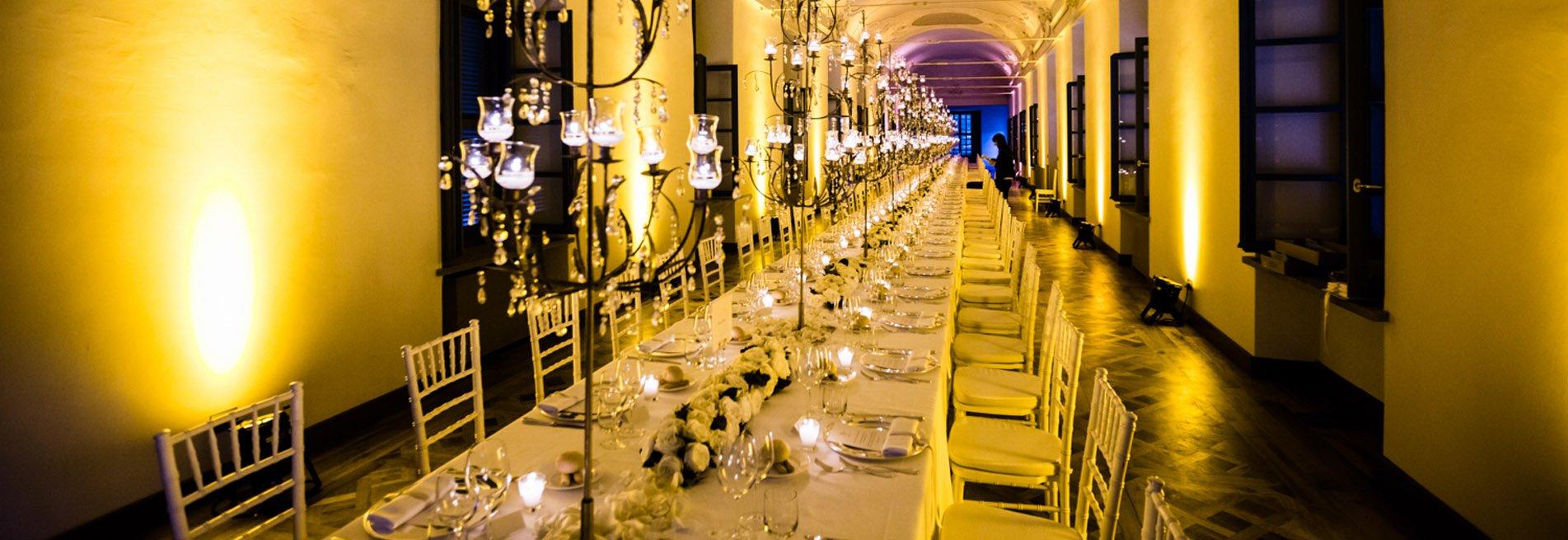 Catering e banqueting per matrimoni, cerimonie, eventi aziendali. Wedding catering. Allestimento eventi. Location per matrimoni ed eventi.
