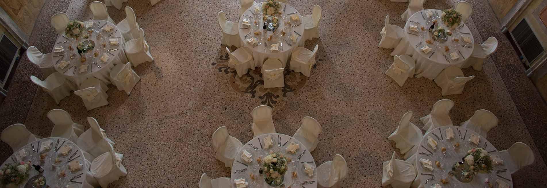 La Casa Forte di Chianocco e Bon Ton di Pietrini potranno regalare agli sposi un ricevimento unico