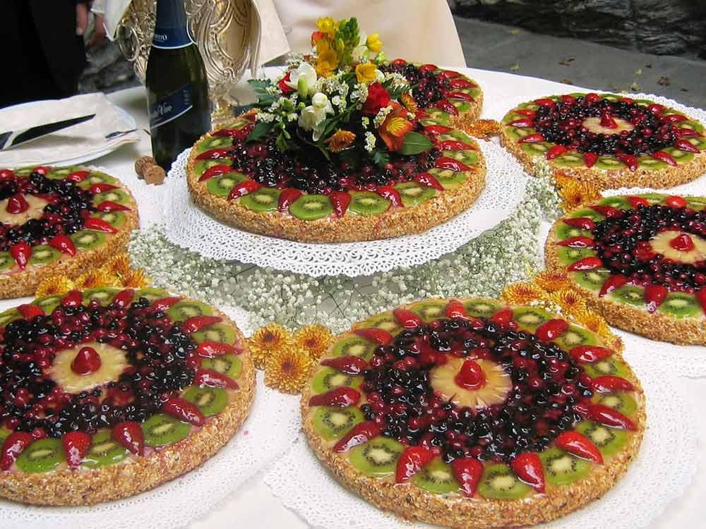 torta frutta fresca - pasticceria pietrini