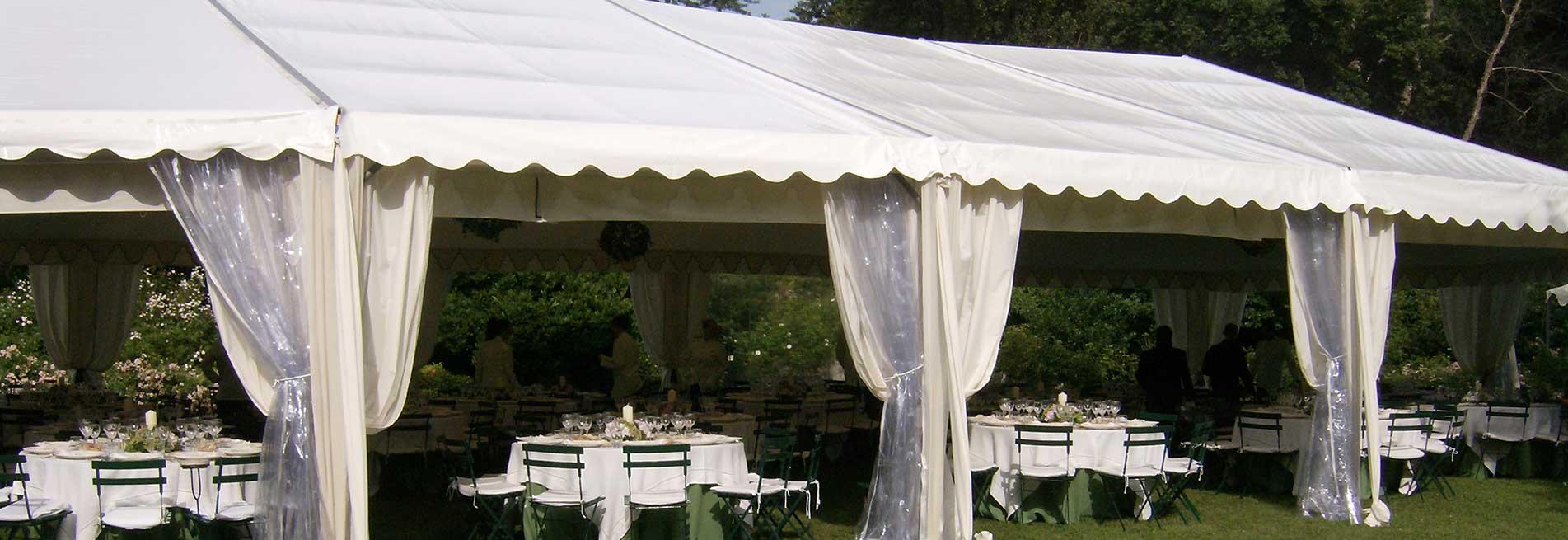 Arredi per esterno ed interno - Catering e Banqueting Torino BON TON Pietrini