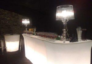 bancone bar-luminoso-open bar- Bon Ton Pietrini