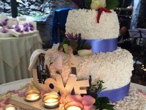 torta matrimonio catering BON TON di Pietrini