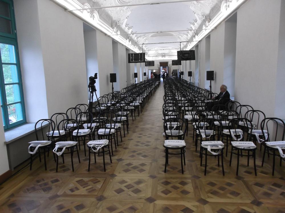 Bon Ton di Pietrini - allestimento sale meeting a Villa Bria per eventi aziendali