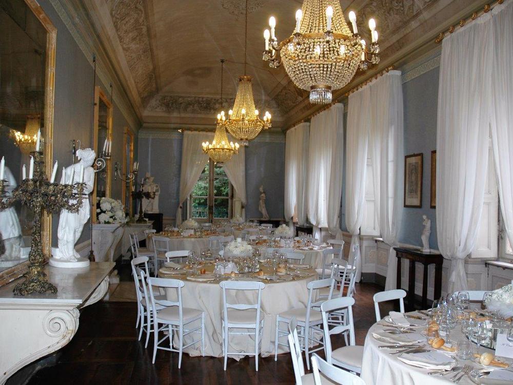 Centro Noleggio per Bon Ton di Pietrini - mise en place per matrimonio