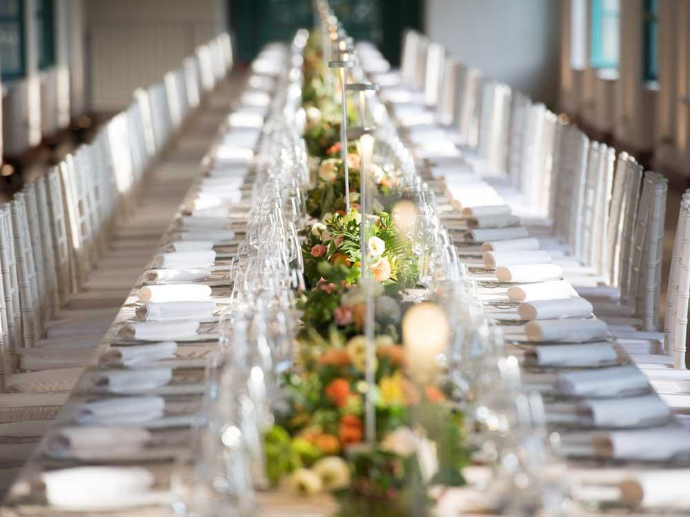 Galleria Villa Bria-tavolo imperiale - Bon Ton di Pietrini presso Villa Bria - catering per matrimoni e catering per eventi aziendali Bon Ton di Pietrini, Torino