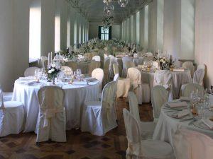 Allestimento placé Villa Bria-Catering BON TON-Pietrini