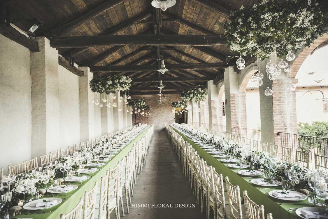 fiori Simmi - tavolo imperiale Bon Ton Pralormo