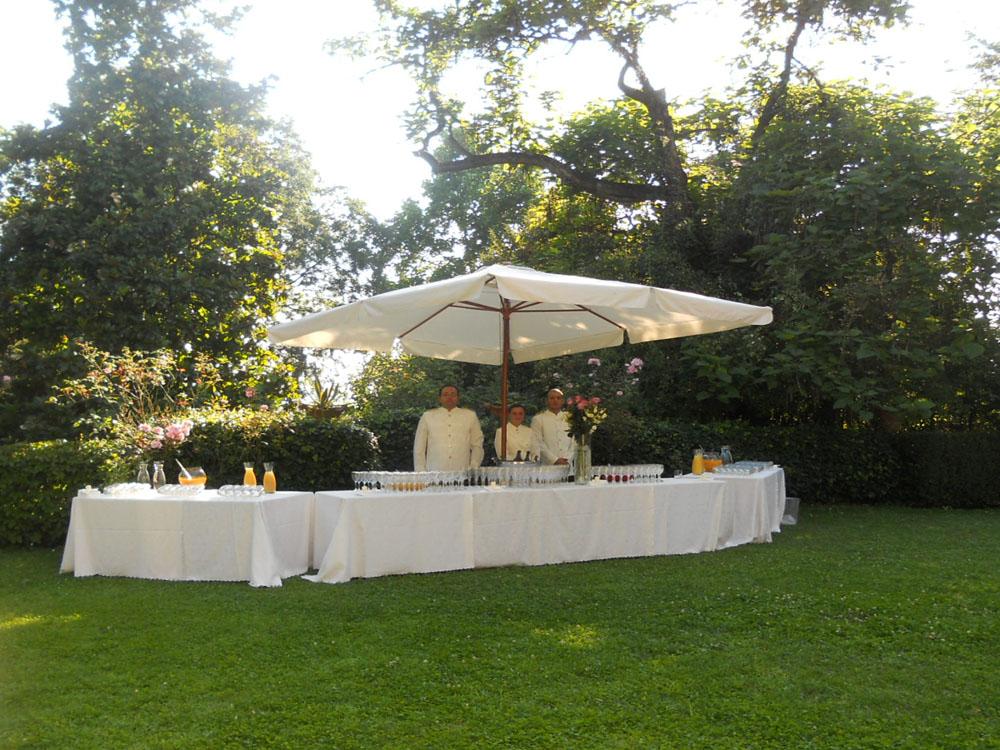 Allestimento buvette Villa Vigna Chinet_Bon Ton di Pietrini