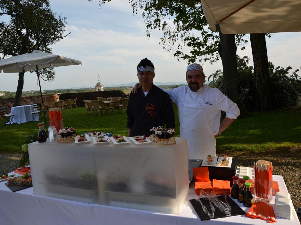 Angolo del Sushi-Catering-BON TON-Pietrini