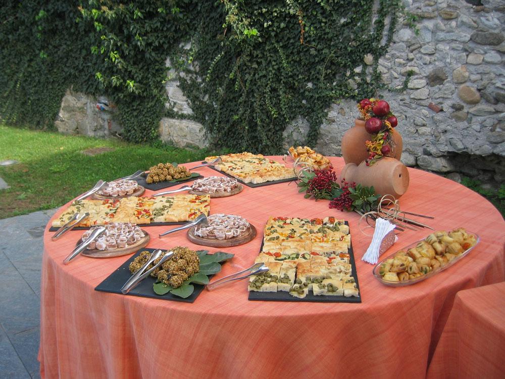 Buffet rustico Catering Bon Ton di Pietrini