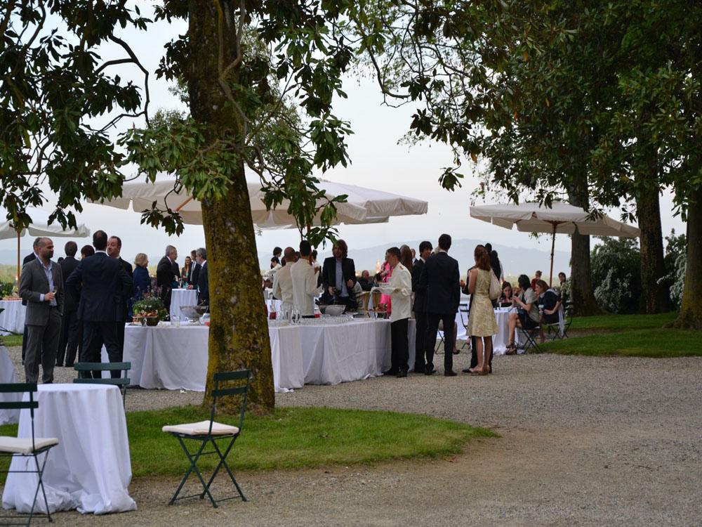 Castello San Giorgio Canavese-giardino-catering-BON TON-Pietrini