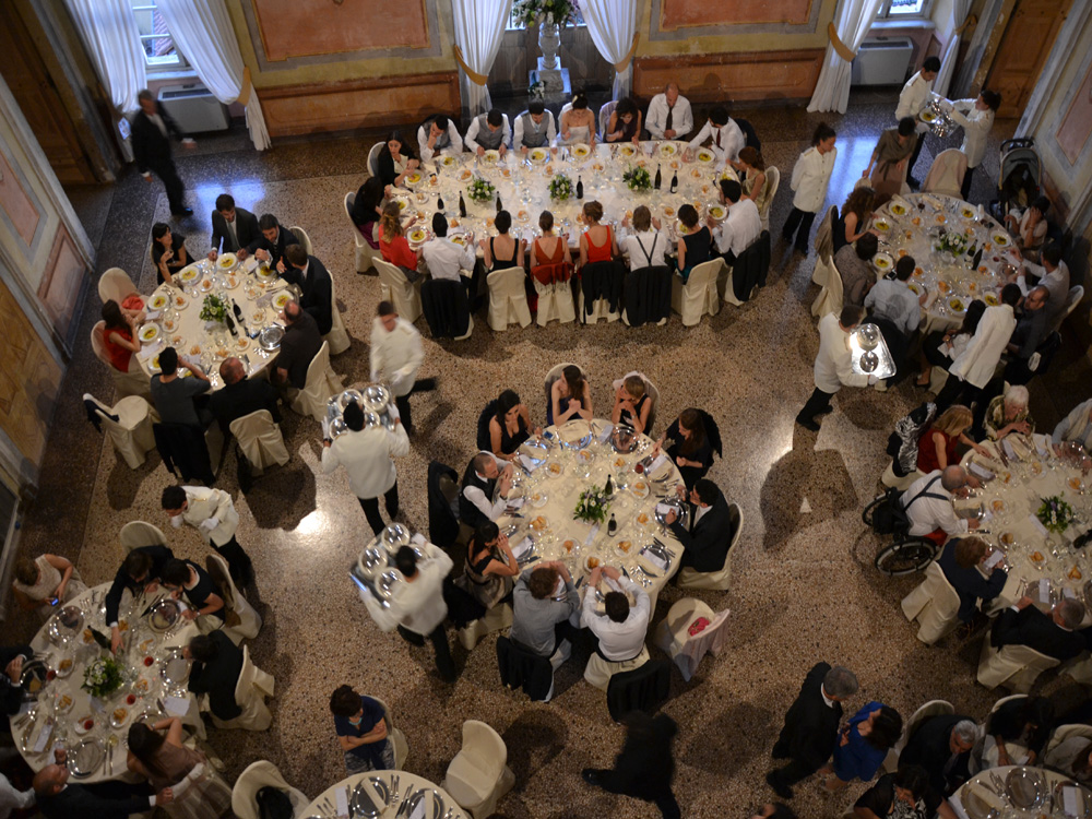 Castello San Giorgio Canavese-salone-Catering BON TON Pietrini