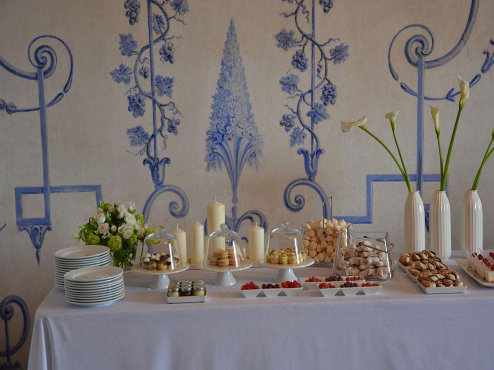 Castello San Giorgio_Il buffet dei dolci-catering BON TON-Pietrini