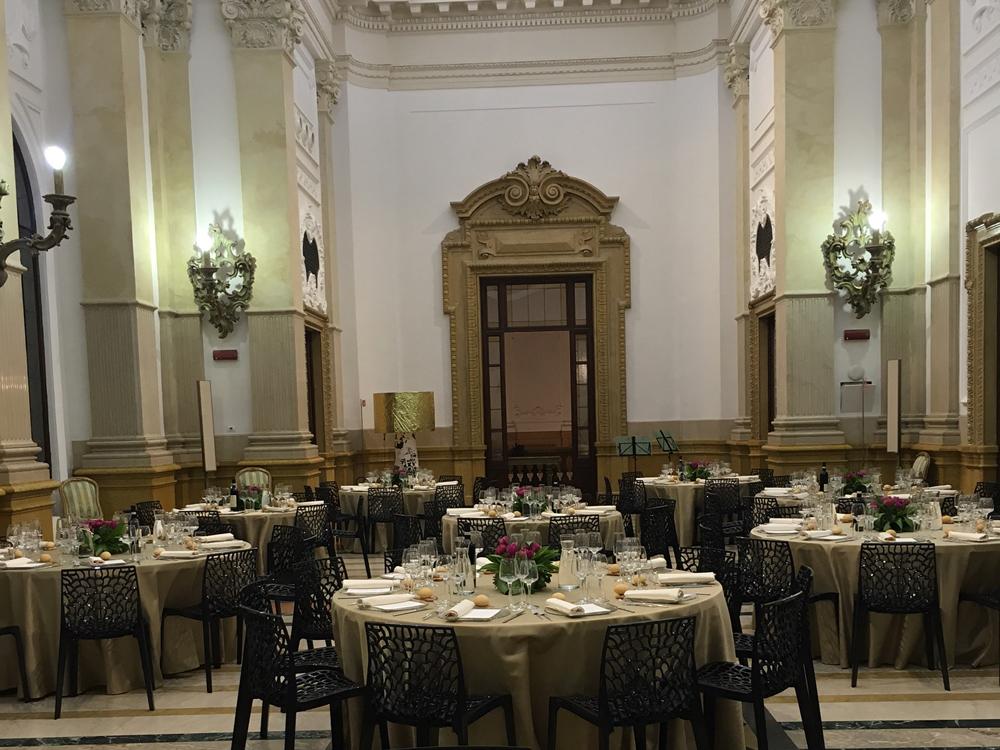 Allestimenti sale Palazzo della Luce - Bon Ton Pietrini