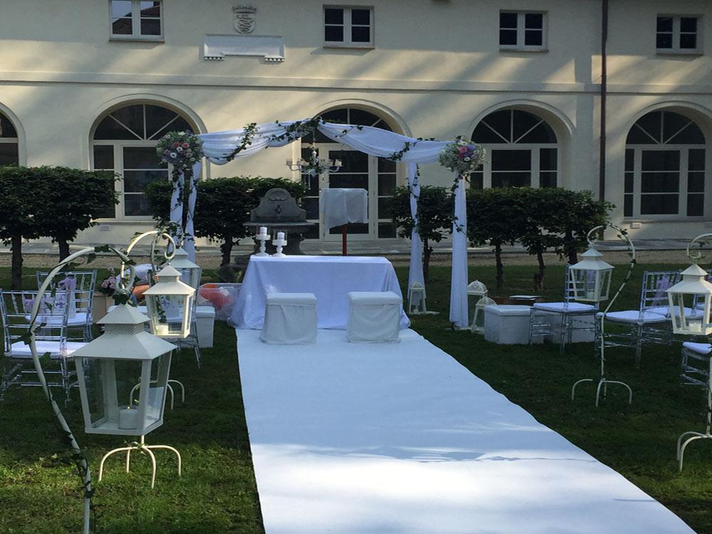 Allestimento per matrimonio civile_Castello Cavour_Bon Ton Pietrini