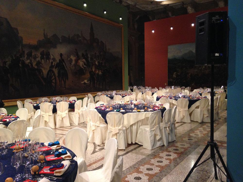 Museo del Risorgimento-110° anniversario invicta-catering bon ton pietrini