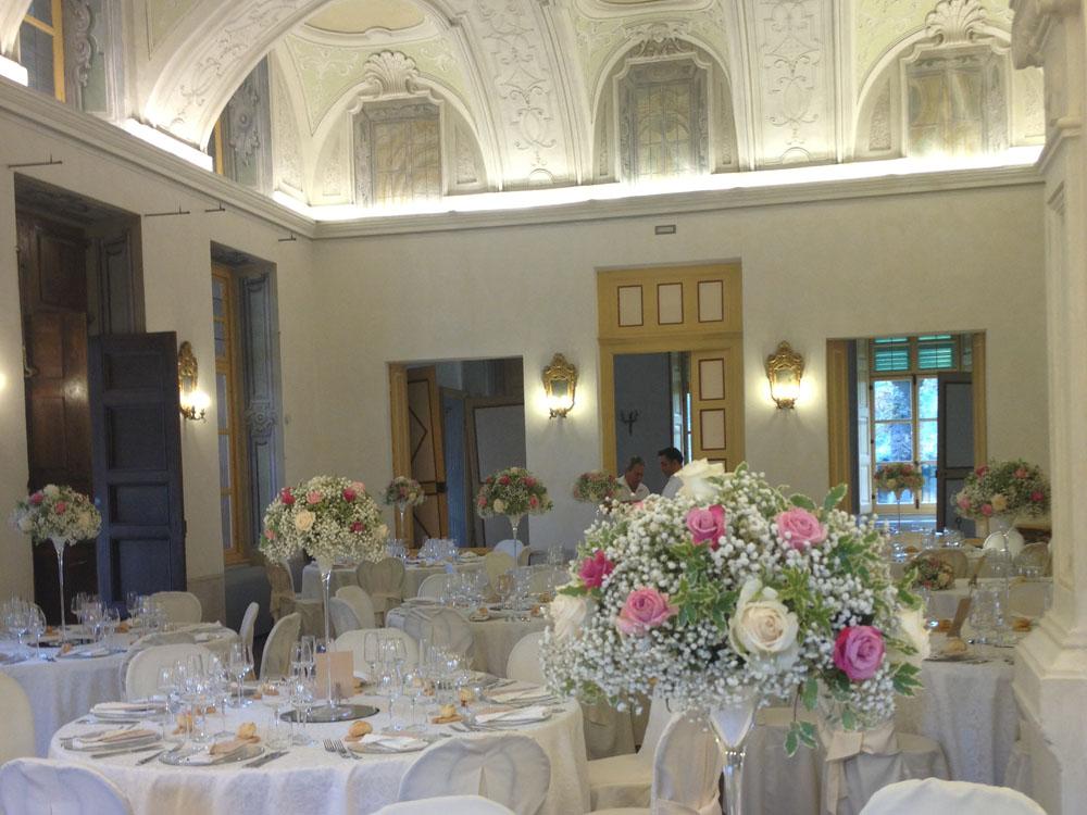 Salone Villa Bria-Allestimento BON TON Pietrini