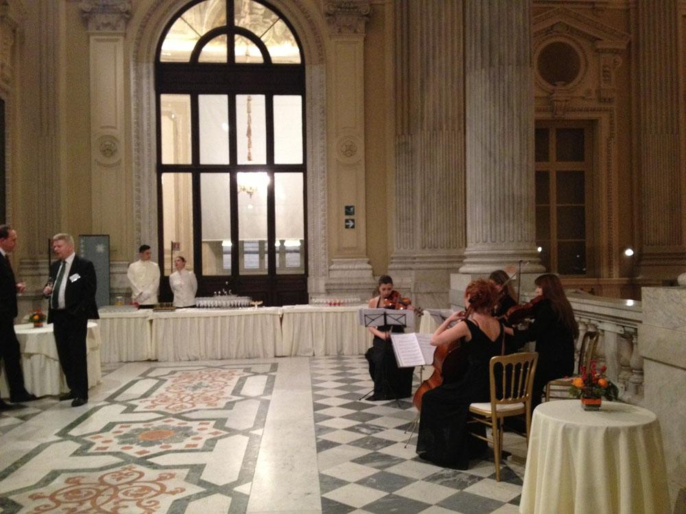 evento avl - museo risorgimento-buffet scalone-catering bon ton pietrini