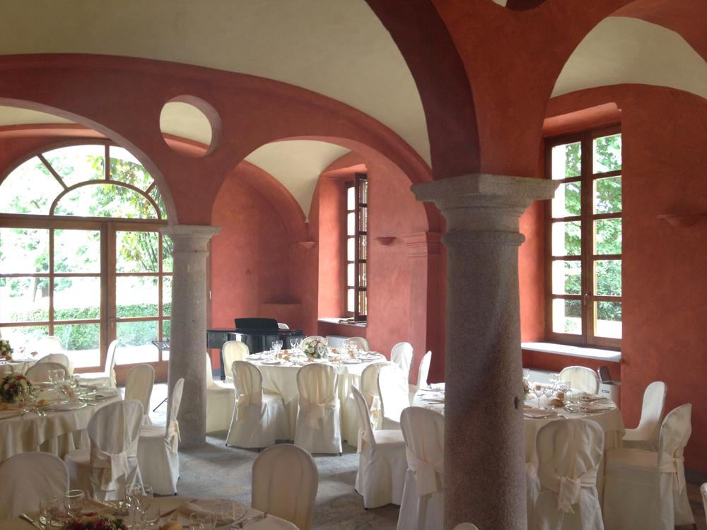 salone, allestimento cena placée di Villa-Doria-Il-Torrione, location per matrimoni, catering per matrimoni Bon Ton di Pietrini srl