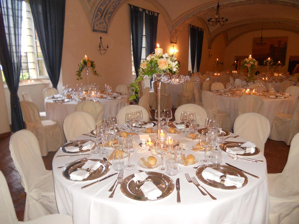 Catering matrimonio - Castello Rivara