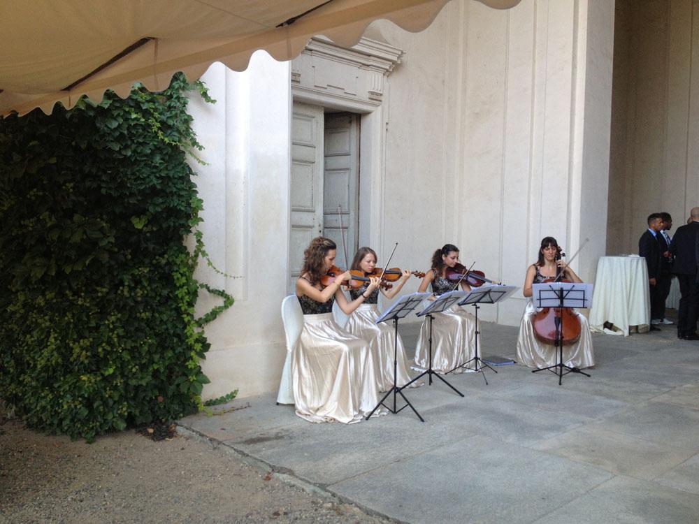 Castello di Agliè - matrimoni-musica- bon ton pietrini