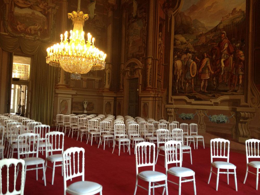 Location matrimonio Castello - Agliè Catering Torino