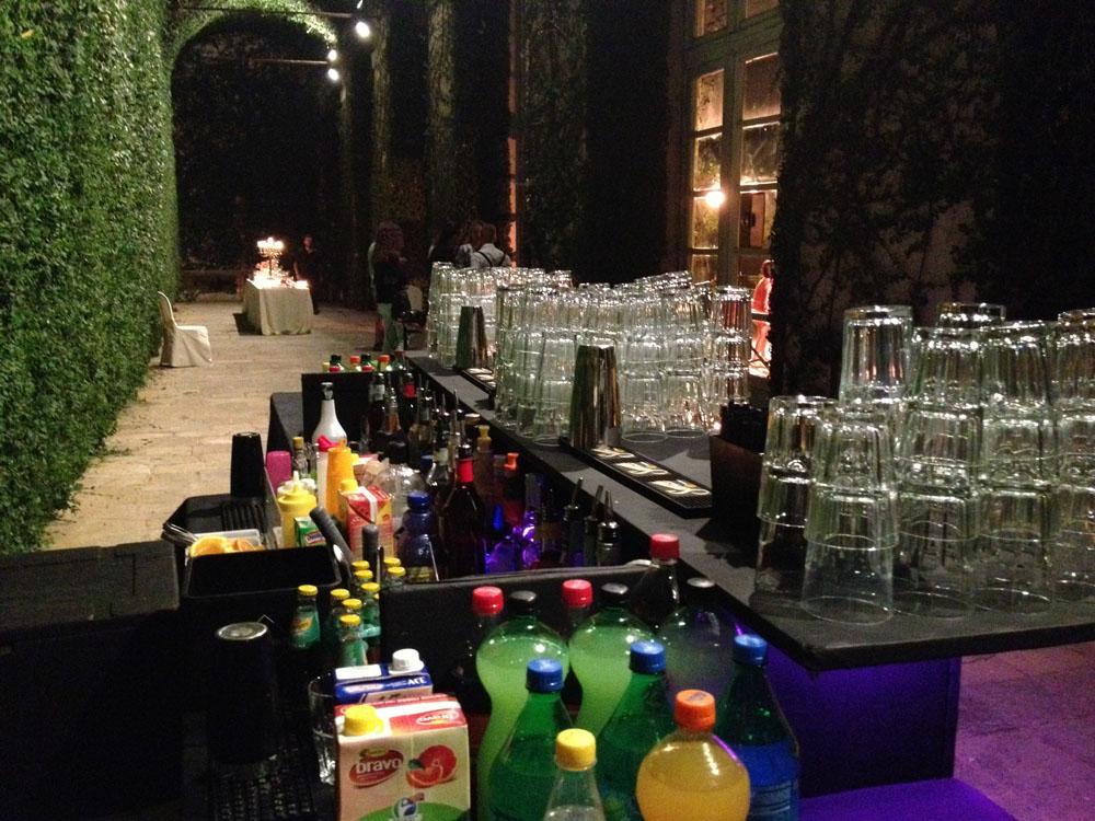 Castello di Agliè_open bar-catering bon ton pietrini