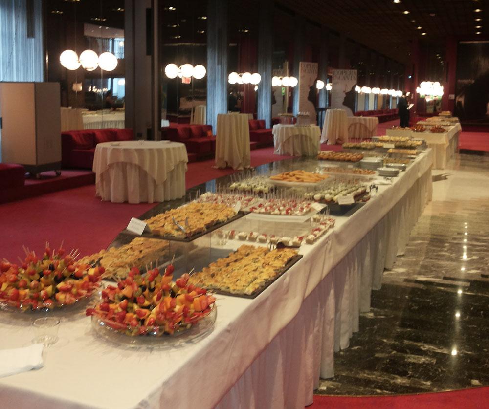 Mito 2016 inaugurazione - Catering Bon Ton Pietrini