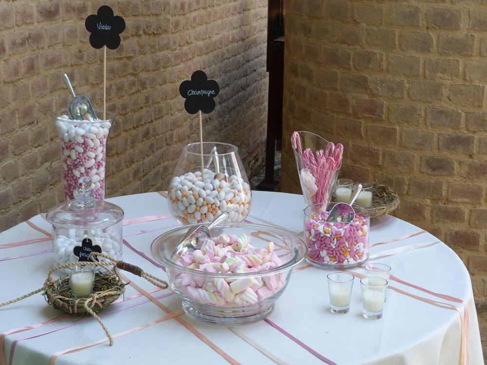 servizio di catering Bon Ton di Pietrini presso la Tenuta Tamburnin - ricevimento di matrimonio, confettata, a cura di Bon Ton di Pietrini