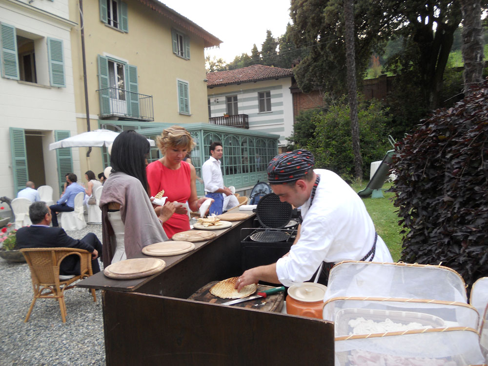 Catering per matrimonio - Tenuta Tamburnin - Bon Ton Pietrini