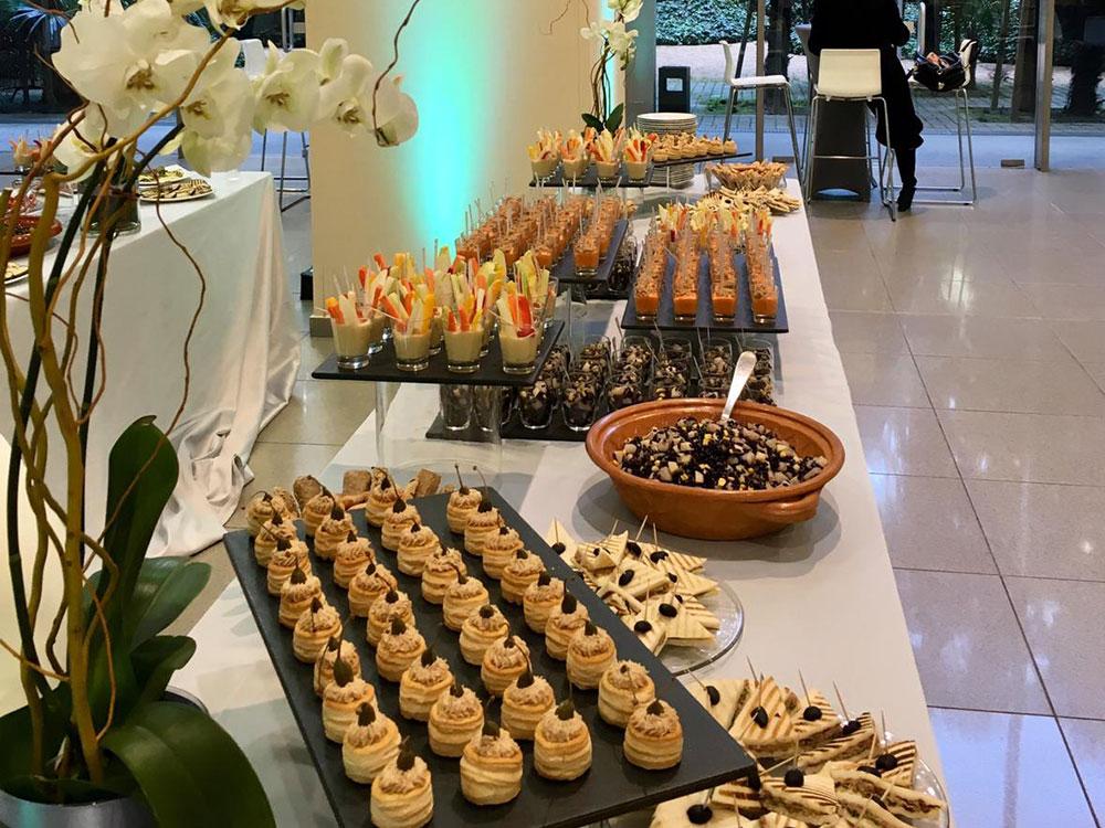 Catering per evento aziendale a Lingotto di Torino