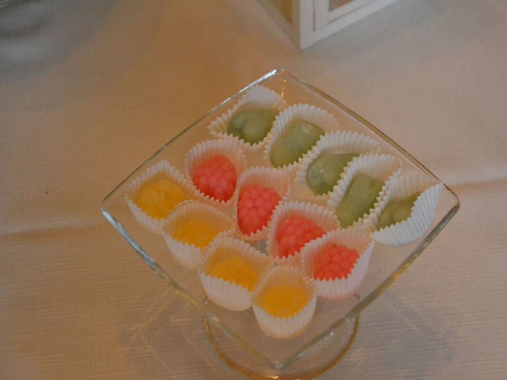 gelatine di frutta - pasticceria pietrini