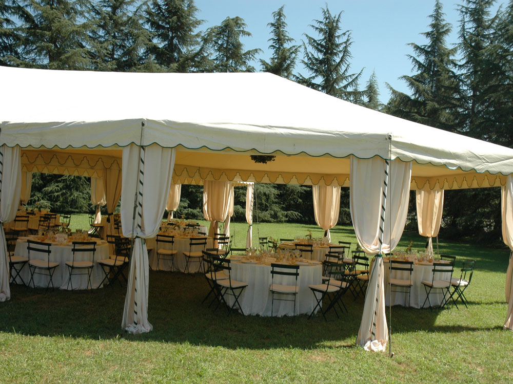 tensostruttura matrimonio - Banqueting Torino