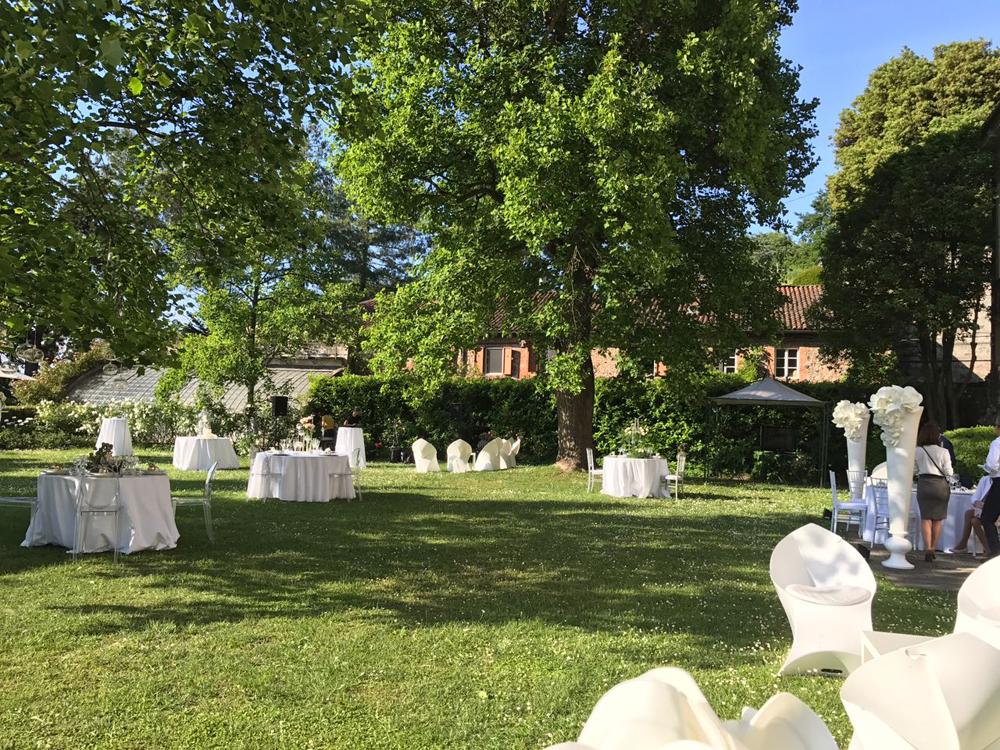 Allestimento per cerimonie - Catering Torino