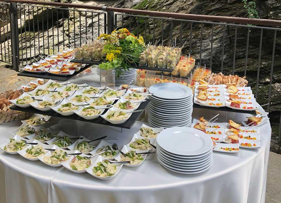 Catering allestimento tavoli matrimonio