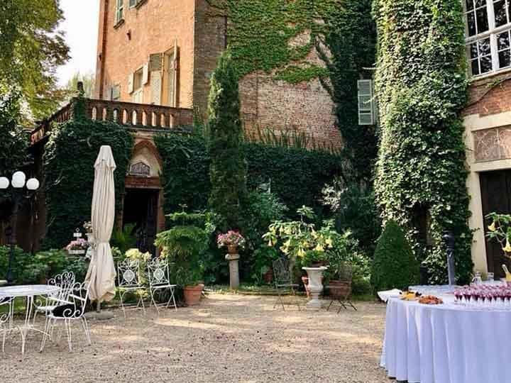 Catering per matrimoni al Castello di Piea - Pietrini