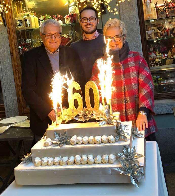 60 anni pasticceria pietrini