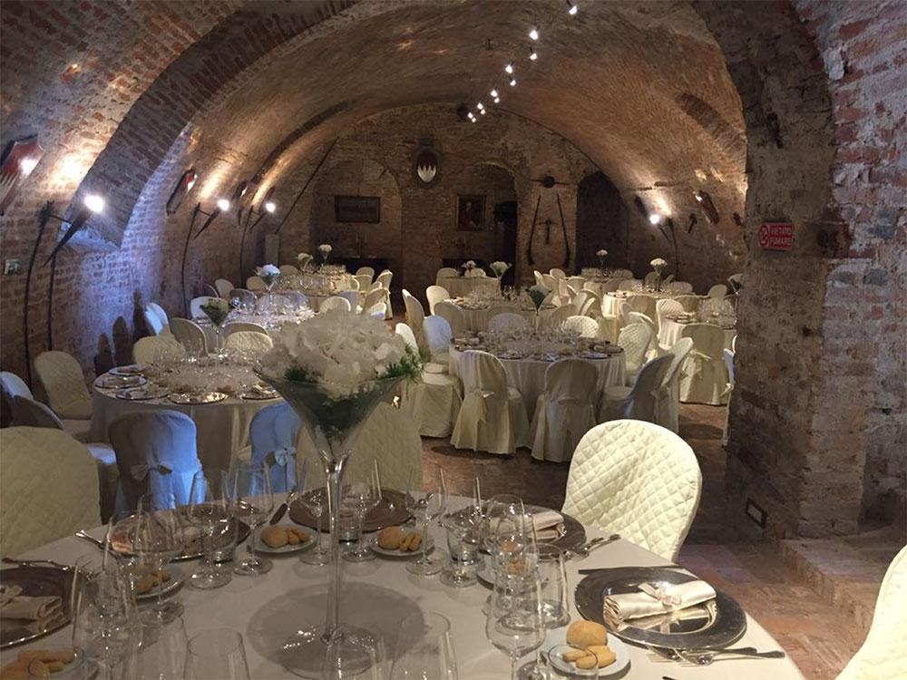 Catering matrimonio Castello Malabaila