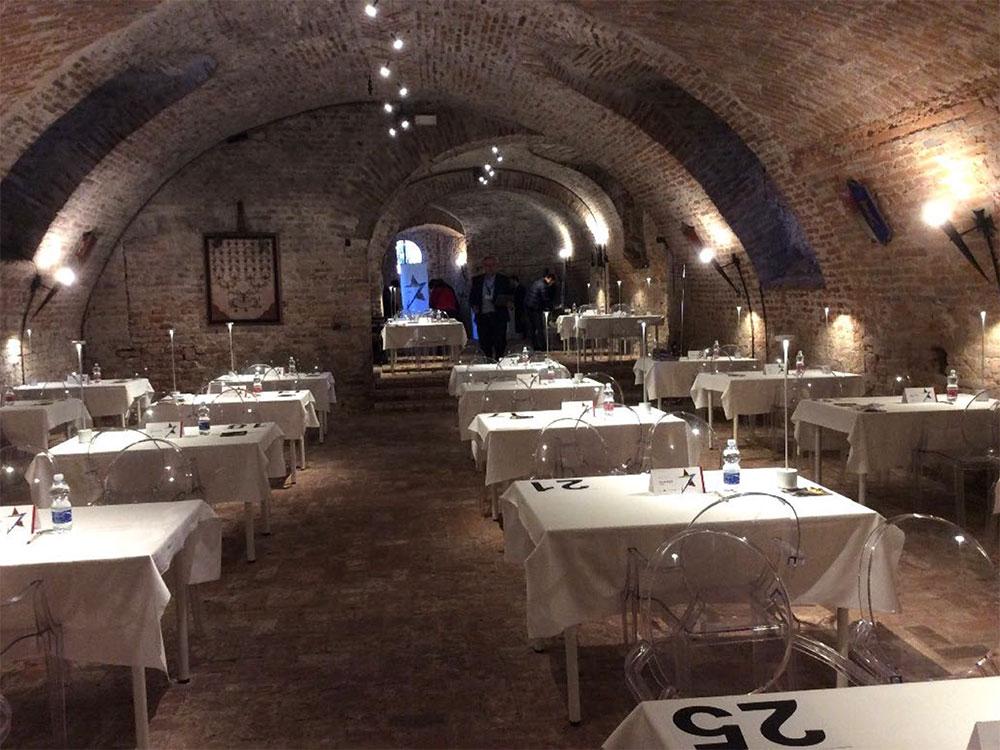 Sala ricevimento Castello Malabaila