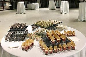 Nuvola Lavazza di Torino: catering per convegno